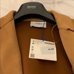 Size small Zara Jacket. New with tags.